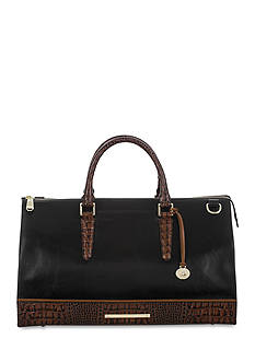 Brahmin Tuscan Tri-Texture Collection Anywhere Weekender Tote