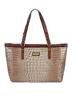Brahmin Medium Arno in Tri-Color Tote