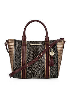 Brahmin Mini Arno Satchel Rooksbury Collection
