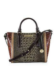 Brahmin Mini Arno Satchel Nottingham Collection