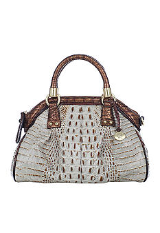 Brahmin Tri-Color Lisa Satchel