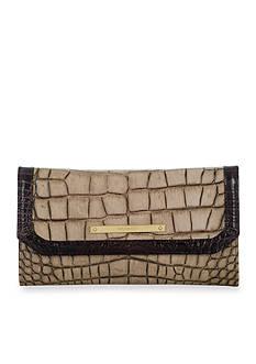 Brahmin Sienna Collection Soft Checkbook Wallet