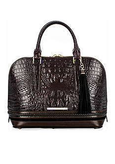 Brahmin Vivian Satchel Dalton Collection