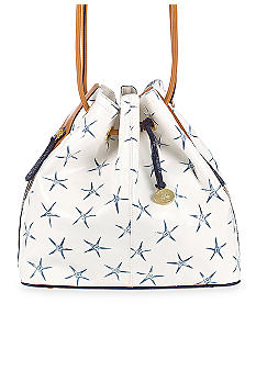 Brahmin Trina Drawstring Blue Atlantic