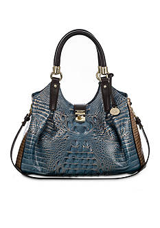Brahmin Palma Collection Elisa Satchel
