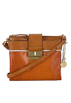 Brahmin Mojito Sand Simon Crossbody Collection