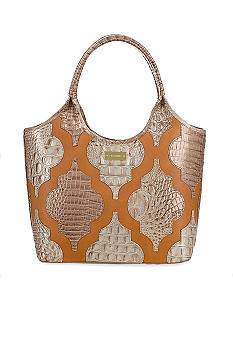 Brahmin Small Applique Shopper