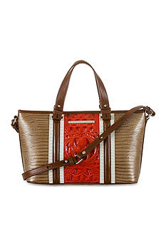 Brahmin Vertical Vineyard Collection Mini Asher Satchel