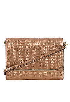 Brahmin Tablet Flap Clutch Strada Croco