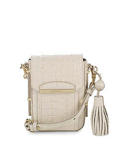 Brahmin Sloane Camera Strada Croco Bag