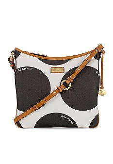Brahmin Julie Polka Dots Crossbody