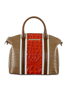 Brahmin Vertical Vineyard Collection Duxbury Satchel