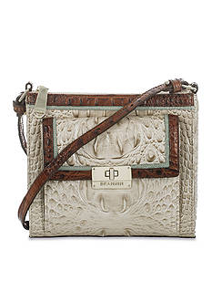 Brahmin Tri-Color Collection Mimosa Crossbody