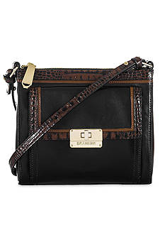 Brahmin Tri-Texture Collection Mimosa Crossbody