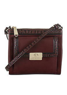 Brahmin Mimosa Crossbody Bag Malbec Tuscan Collection