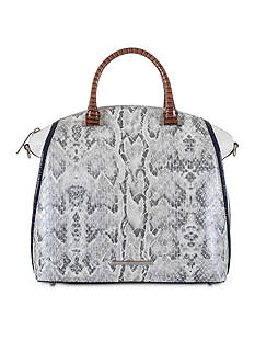 Brahmin Sierra Collection Large Duxbury Satchel