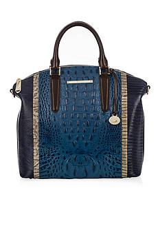 Brahmin Large Duxbury Satchel Corbet Collection