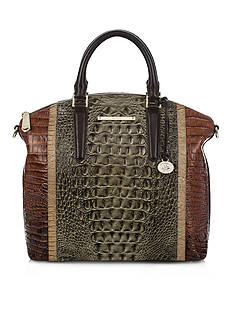 Brahmin Large Duxbury Satchel Nottingham Collection