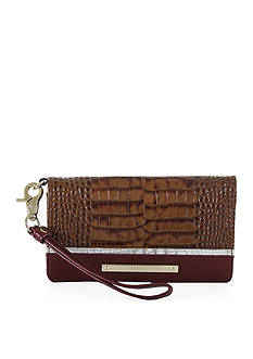 Brahmin Debra Wristlet Tri-Texture Collection