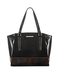 Brahmin Tri-Texture Collection Paris Business Tote