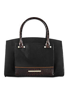 Brahmin Tri-Texture Collection Greta Satchel