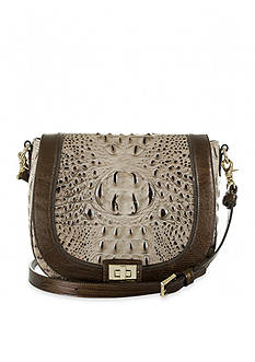 Brahmin Sonny Saddle Bag Barley Bronte Collection