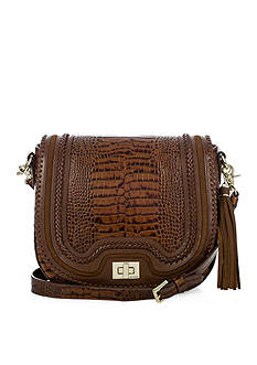 Brahmin Sonny Crossbody Saddle Bag Rockdale Collection