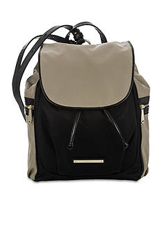 Brahmin Bayview Colorblock Collection Serena Backpack
