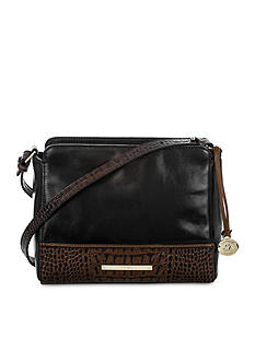Brahmin Carrie Crossbody Bag Tuscan Tri-Texture Collection