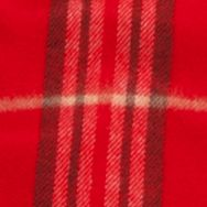 V. Fraas: Red Multi V Fraas Plaid Cashmink® Scarf