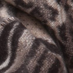 Handbags & Accessories: Cold Weather Sale: Taupe Multi V Fraas Mixed Animal Cashmink Infinity Scarf