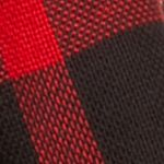 V Fraas Accessories: Black V Fraas Plaid Oversized Lightweight Infinity Scarf