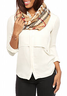 V Fraas Boucle Infinity Scarf
