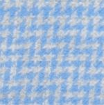 V Fraas Accessories: Light Blue V Fraas Houndstooth Blanket Wrap