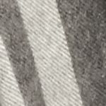 V Fraas Accessories: Light Gray V Fraas Cashmink Fraas Plaid Blanket Wrap