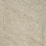 V Fraas Accessories: Taupe V Fraas Tipped Knit Reversible Ruana