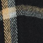 V Fraas Accessories: Black V Fraas Bi-Color Window Pane Ruana