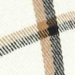 V Fraas Accessories: Ivory V Fraas Bi-Color Window Pane Ruana