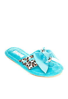 Jessica Simpson Leopard Thong Slipper