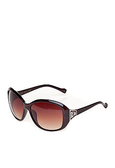 Jessica Simpson Oval Glam Sunglasses