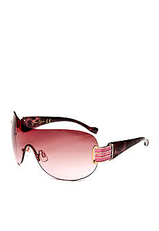 Jessica Simpson Logo Shield Sunglasses