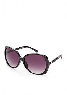 Jessica Simpson Square Glam Sunglasses