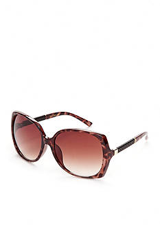 Jessica Simpson Square Glam Sunglasses