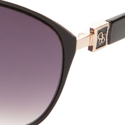 Cat Eye Sunglasses: Black Jessica Simpson Cateye Sunglasses