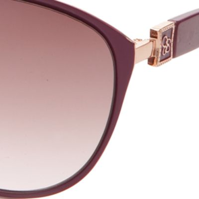 Cat Eye Sunglasses: Pink Jessica Simpson Cateye Sunglasses