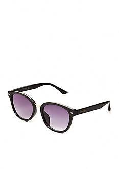 Jessica Simpson Plastic Rec with Metal Bridge Sunglasses