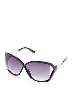 Jessica Simpson Oversized Vented Plastic Sunglasses