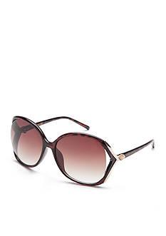 TAHARI™ Rhinestone Vented Sunglasses