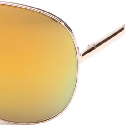 Tahari™ Women Sale: Rose Gold TAHARI™ Classic Mirror Aviator Sunglasses