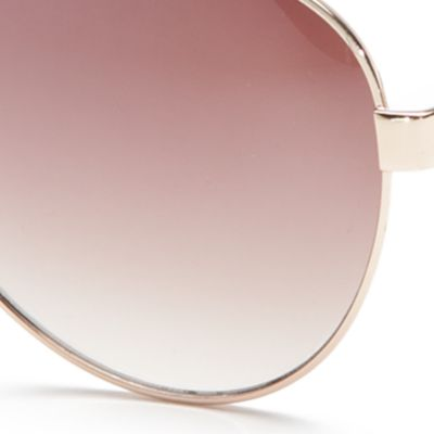Handbags & Accessories: Aviator Sale: Gold TAHARI™ Aviator Sunglasses